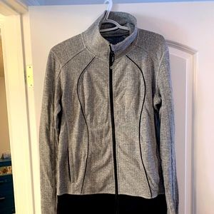 Lululemon Asana Heathered Herringbone Jacket
